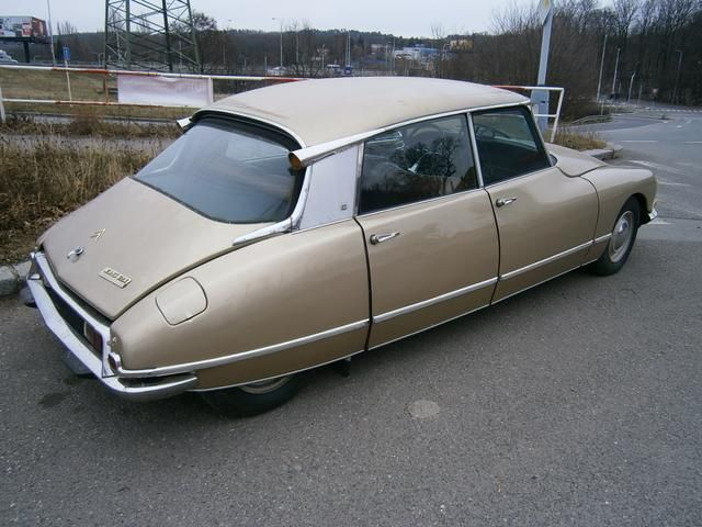 legenda citroen DS
