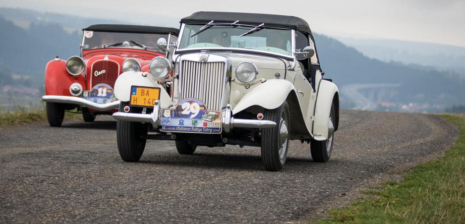 Oldtimer Rallye Tatry